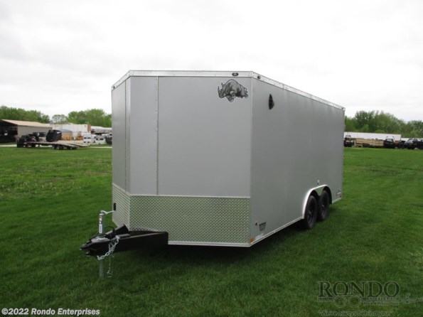 2021 Mirage Rhino Enclosed Car Hauler SAHARA 8.5X16TA2 available in Sycamore, IL