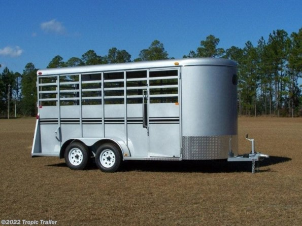 2020 Bee Trailers 6x16 Bumper Stock Trailer available in Fort Myers, FL