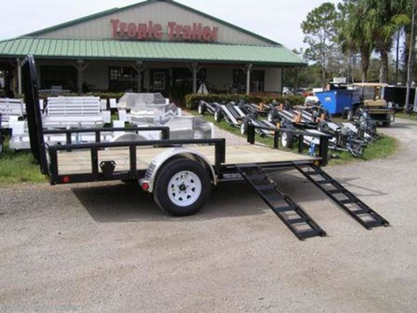"2020 PJ Trailers Utility 77"" Single Axle Channel  (U7) 12' available in Fort Myers, FL"