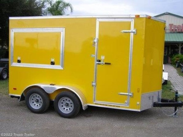 2020 Continental Cargo 6x12 Tandem Axle Concession available in Fort Myers, FL