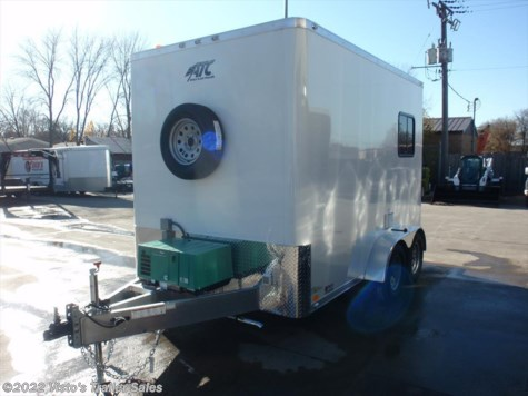 2017 ATC Quest 7x12 Fiber Splicing Trailer