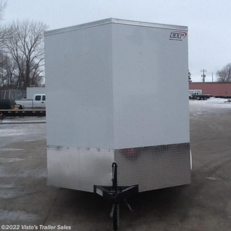 2018 Bravo 7'X12' Enclosed Trailer