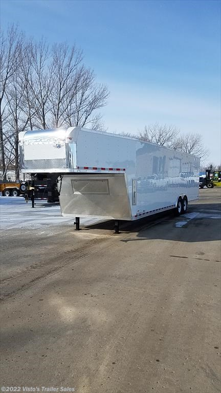 2018 MTI 8.5'X36' Gooseneck Enclosed