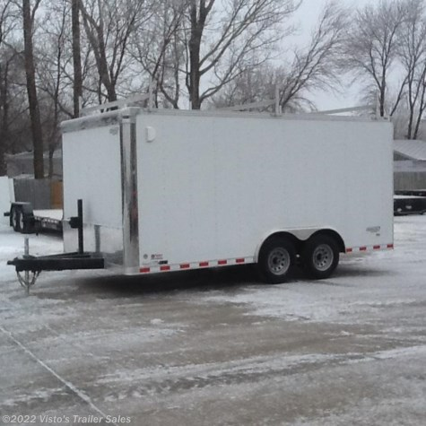 2018 Bravo Star 8.5'X16' Enclosed Trailer