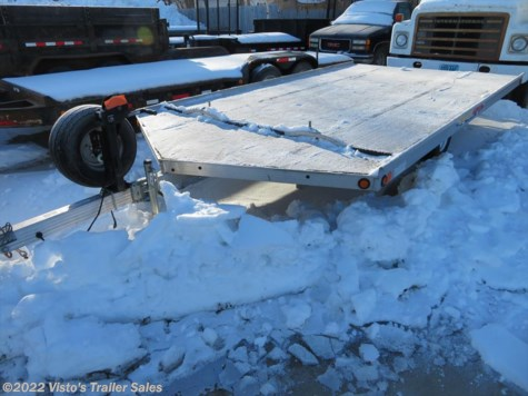 2008 Newmans 8'6'X14' Snowmobile Trailer