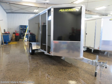 2020 Aluma 6'X12' Enclosed Trailer