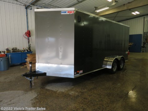 2019 Bravo Trailers Hero 7'x16' Enclosed Trailer