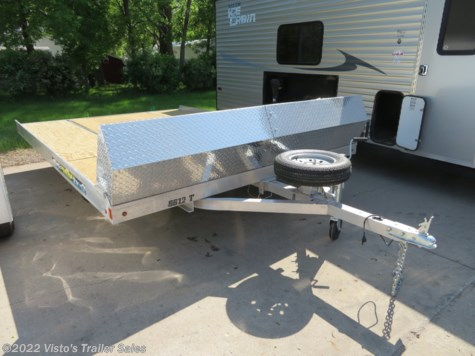 2019 Aluma 12' Snowmobile Trailer