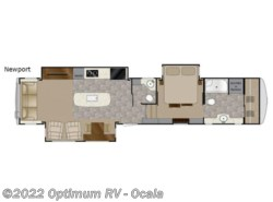 New 2018  Heartland RV Landmark 365 Newport by Heartland RV from Optimum RV in Ocala, FL