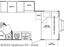 Used 2011  Cruiser RV Fun Finder X X-189 FDS by Cruiser RV from Optimum RV in Ocala, FL