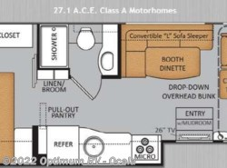 Used 2014  Thor Motor Coach  ACE 27 1 by Thor Motor Coach from Optimum RV in Ocala, FL