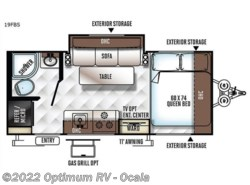 New 2018  Forest River Flagstaff E-Pro 19FBS by Forest River from Optimum RV in Ocala, FL