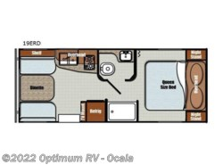 New 2018  Gulf Stream Vintage Cruiser 19ERD by Gulf Stream from Optimum RV in Ocala, FL