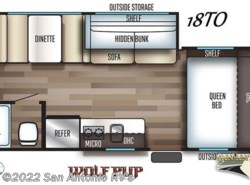 New 2019 Forest River Cherokee Wolf Pup 18TO available in Seguin, Texas