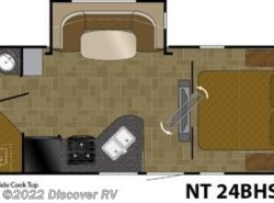 New 2018  Heartland RV North Trail  24BHS by Heartland RV from Discover RV in Lodi, CA