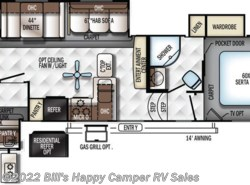 New 2018  Forest River Rockwood Signature Ultra Lite 8301WS by Forest River from Bill's Happy Camper RV Sales in Mill Hall, PA