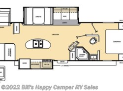 Used 2016  Coachmen Catalina 333BHKS by Coachmen from Bill's Happy Camper RV Sales in Mill Hall, PA