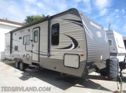 Used 2017  Keystone Hideout 27DBS by Keystone from Ted's RV Land in Paynesville, MN