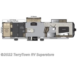 New 2017  Keystone Raptor 352TS by Keystone from TerryTown RV Superstore in Grand Rapids, MI