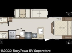 New 2018  Keystone Bullet 287QBS by Keystone from TerryTown RV Superstore in Grand Rapids, MI