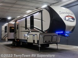 New 2018  Forest River Sandpiper 372LOK by Forest River from TerryTown RV Superstore in Grand Rapids, MI
