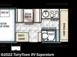New 2017  Forest River Rockwood Hard Side A214HW by Forest River from TerryTown RV Superstore in Grand Rapids, MI
