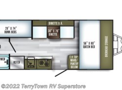 New 2019  Palomino PaloMini 177BH-ORV by Palomino from TerryTown RV Superstore in Grand Rapids, MI