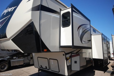 2018 Forest River Sandpiper 372LOK Bunk Room