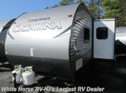 New 2018  Coachmen Catalina 221TBS SBX 2-BdRM U-Dinette Slide Triple Bunks by Coachmen from White Horse RV Center in Egg Harbor City, NJ