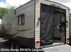 New 2017  Forest River Grey Wolf 19RR Front Queen Rear Garage by Forest River from White Horse RV Center in Egg Harbor City, NJ