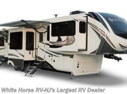 New 2018  Grand Design Solitude 375RES-R Rear Entertainment 5 Slide HUGE Ext Stora by Grand Design from White Horse RV Center in Egg Harbor City, NJ
