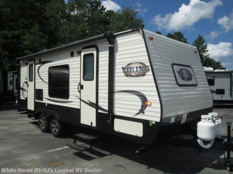 2018 Coachmen Viking 21FQ Front Walk-Around Queen, Sofa/Bed & Dinette