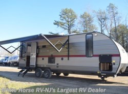 New 2018  Forest River Grey Wolf 23MK Rear Living Room Slide-out U booth by Forest River from White Horse RV Center in Egg Harbor City, NJ