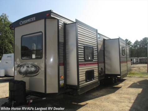 2018 Forest River Cherokee 39BR 2-BdRM Quad Slide with Bunkhouse