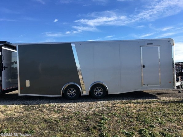 2019 Mission Trailers EZ Hauler 8.5X24 Enclosed Car Hauler Trailer Silve available in Van Alstyne, TX