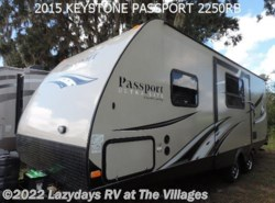 Used 2015 Keystone Passport 2250RB available in Wildwood, Florida
