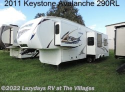 Used 2011  Keystone Avalanche 290RL