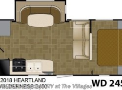 New 2018  Heartland RV Wilderness 2450 by Heartland RV from Alliance Coach in Wildwood, FL