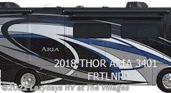 New 2018  Thor  ARIA 3401 by Thor from Alliance Coach in Wildwood, FL