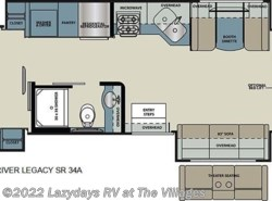 New 2018  Forest River Legacy SR 34A by Forest River from Alliance Coach in Wildwood, FL