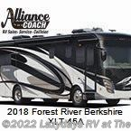 New 2018  Forest River Berkshire XLT 45A by Forest River from Alliance Coach in Wildwood, FL