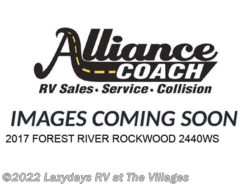 Used 2017  Forest River Rockwood 2440WS by Forest River from Alliance Coach in Wildwood, FL