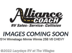 Used 2014  Winnebago Minnie Winnie 25B by Winnebago from Alliance Coach in Wildwood, FL