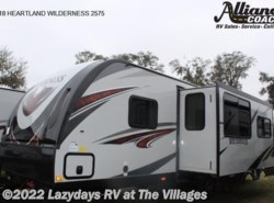 New 2018  Heartland RV Wilderness 2575 by Heartland RV from Alliance Coach in Wildwood, FL