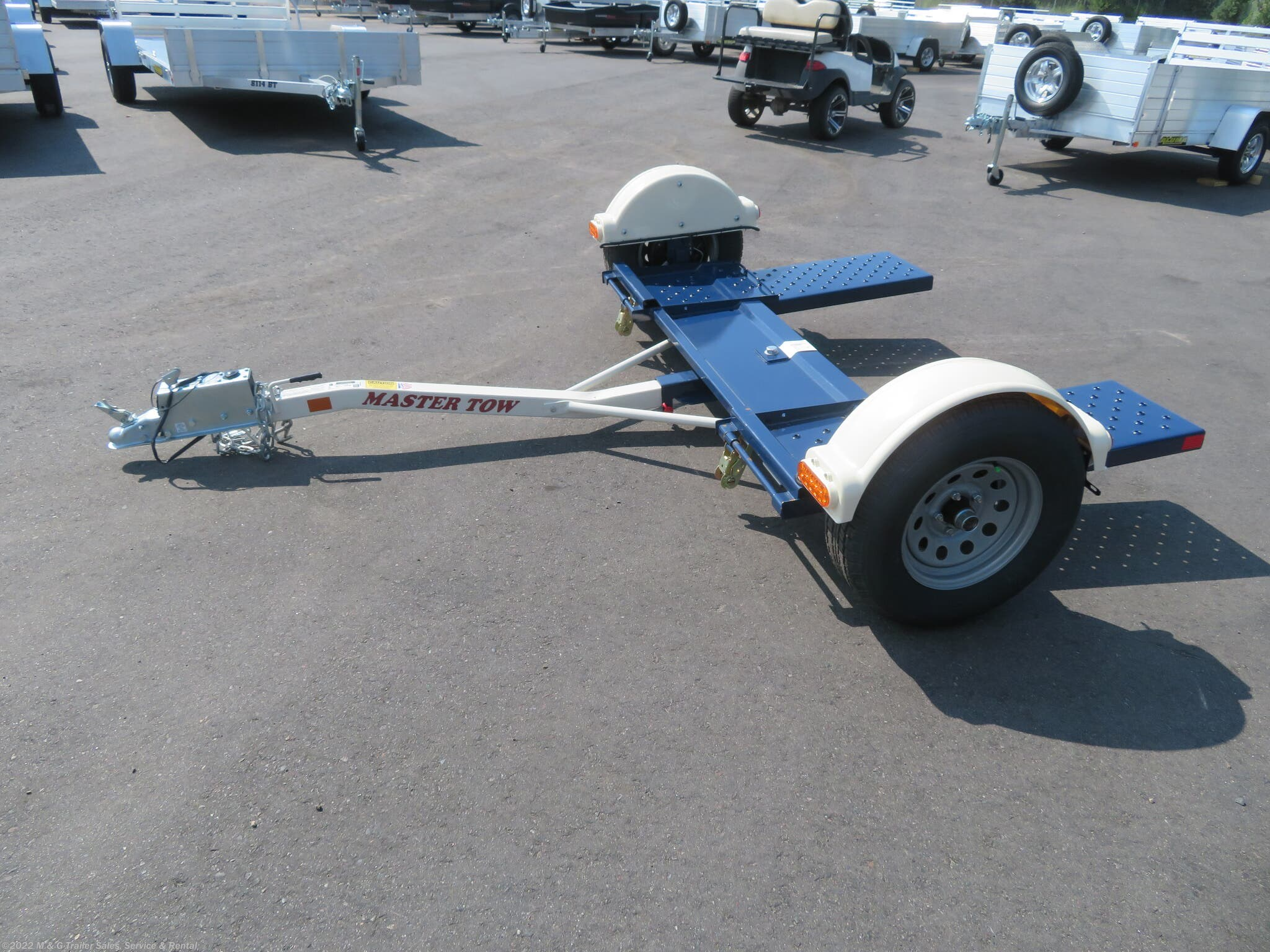 2019 Master Tow Tow Dolly Electric Brakes - Stock #138564