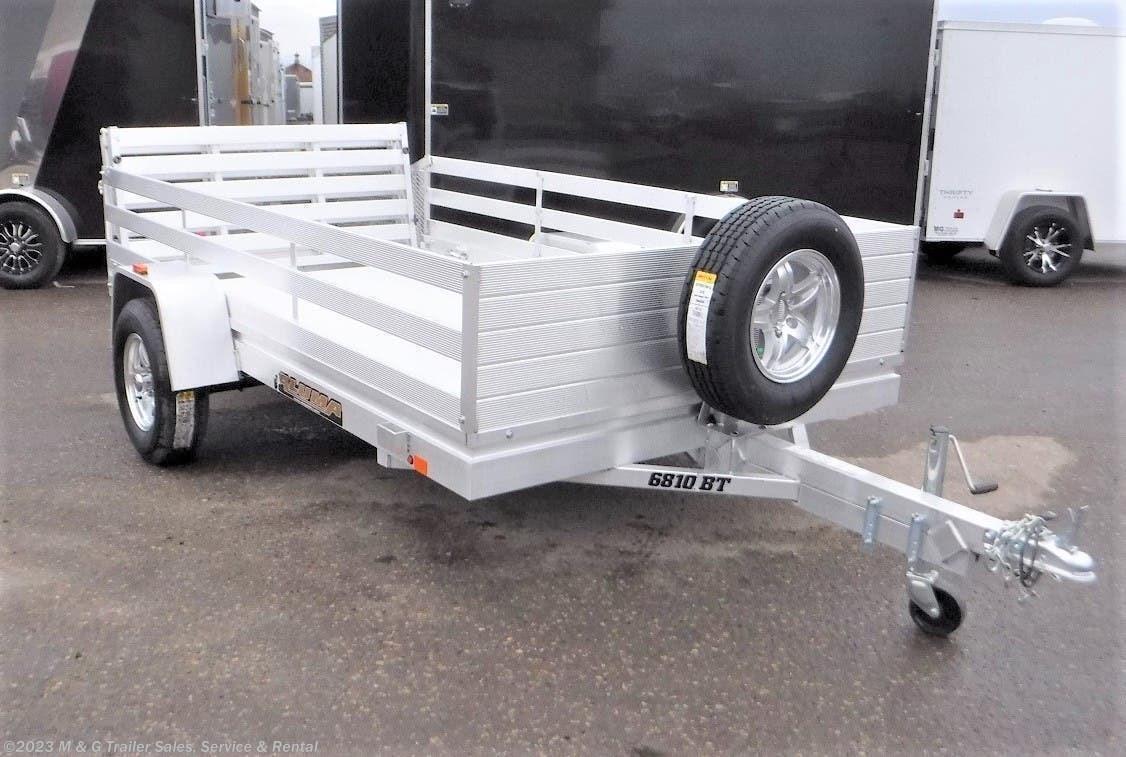 2021 Aluma 6810BT Aluminum Utility Trailer - Stock #225360