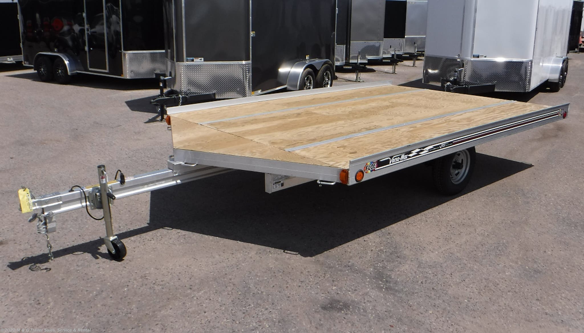 2021 FLOE 12' Drive On/Off Snowmobile Trailer - Stock #001330