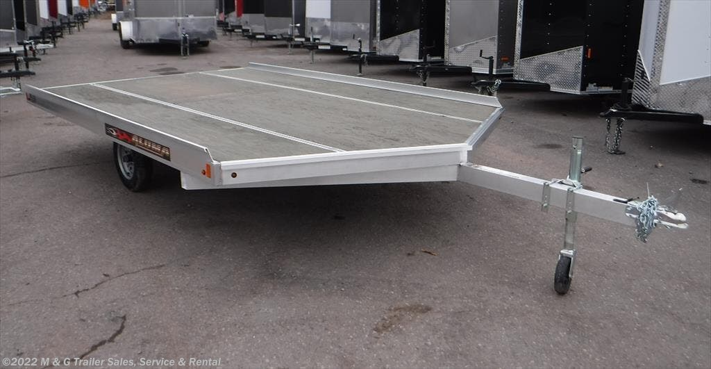 2022 Aluma 8612D/13 Aluminum Snowmobile Trailer - Stock #232163