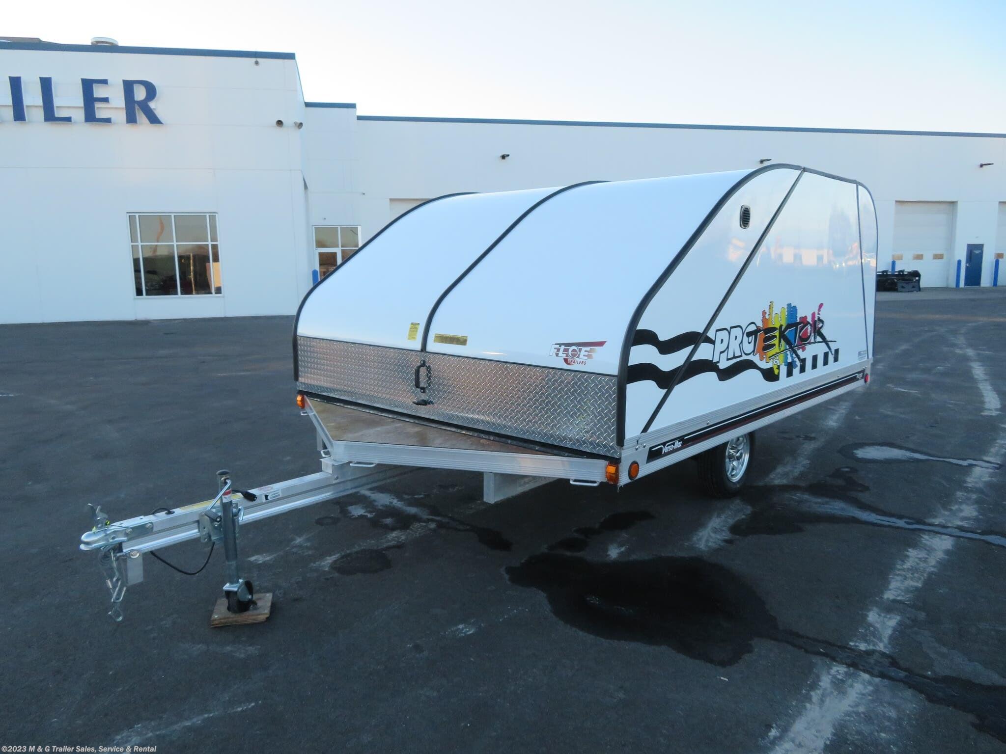 2020 FLOE 8.5x12 Protektor 2 Place Snowmobile Trailer - Stock #001032