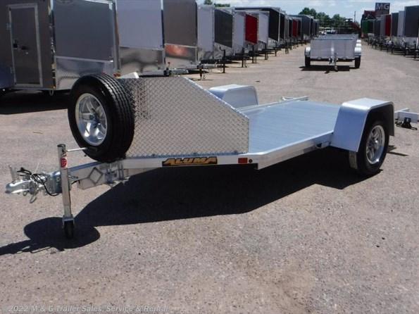 2022 Aluma MC10 Aluminum Motorcycle Trailer available in Ramsey, MN